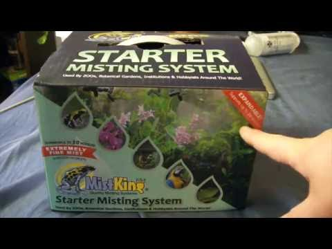 Our number one automatic mister for frogs: The MistKing Starter Misting System v4.0